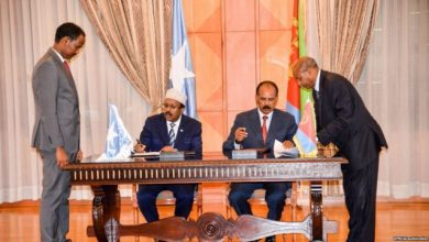 Somalia And Eritrea Agree To Restore Diplomatic Relations