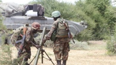 Photo of Al-Shabaab Attacks AMISOM Base With Mortars