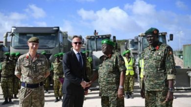 Photo of UK Donates Equipment To African Union Mission In Somalia