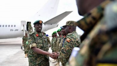 Photo of Uganda Peacekeepers Arrive In Somalia