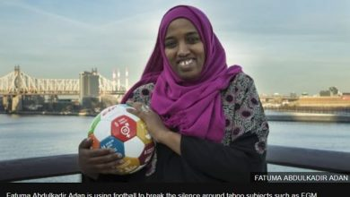 Photo of The woman tackling child marriage with football