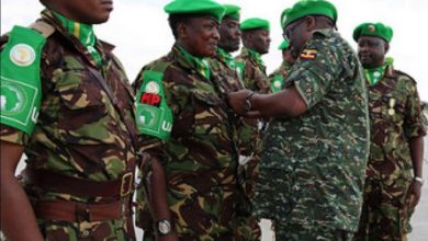 Photo of AMISOM Force Commander concludes tour of Forward Operating Bases in south central Somalia