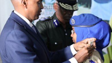 Photo of Somali's first female brigadier general
