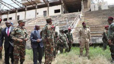 Photo of AMISOM Hands Over Somalia National Stadium