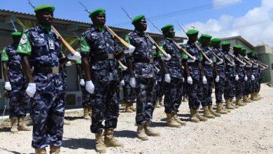 Photo of 160 Ugandan Police Officers Leave Mogadishu