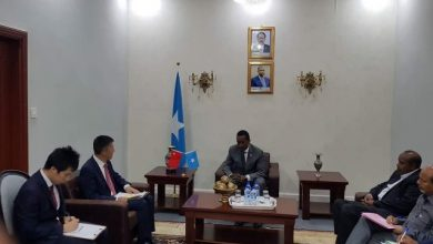 Photo of Somalia's Foreign Minister Meets With Chinese Ambassador To Mogadishu