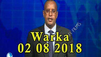 Photo of WARKA 02 08 2018 Maxkamada ciidamada qalabka sida oo xukuno ku riday labo nin oo lagu soo eedeeyey in ay ka tirsanaayeen ururka Daacish