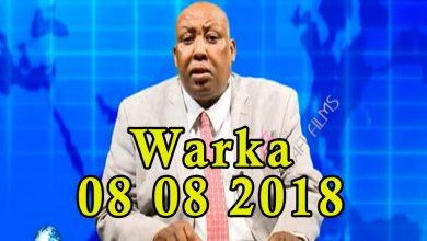 Photo of WARKA 08 08 2018 Beelo Soomaaliyeed oo cabasho ka muujiyey qaabka Raisulwasaare Kheyre uu isgu shaandheeyey wasiirada