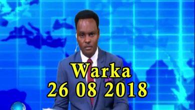 WARKA 26 08 2018 Raisulwasaare Kheyre oo gabadhii ugu horeysay ee Soomaaliyeed u xiray darajada sareeye guuto
