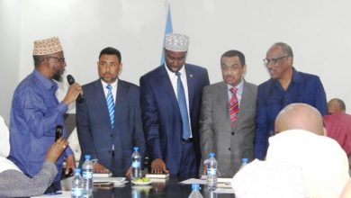 Photo of Newly Appointed Somali Ministers Assume Offices