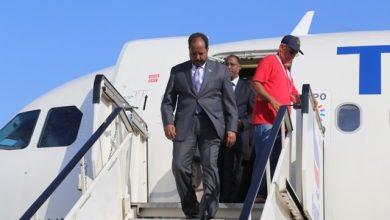 Photo of Former President Hassan Sheikh Mohamud Returns Home