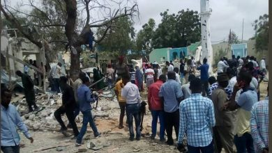 Photo of 4 dead in blast at district headquarters in Somali capital