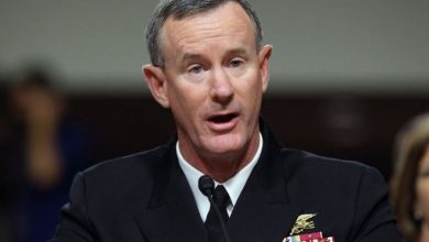 Photo of Admiral who blasted Trump steps down from Pentagon body