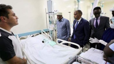 Photo of Somali PM Visits Wounded MP At Hospital In Mogadishu