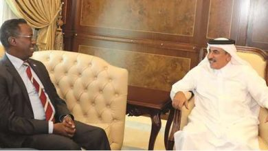Photo of Qatari Minister Meets With Somalia's Minister Of Trade