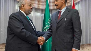Photo of Eritrea, Djibouti Leaders Hold Historic Meeting In Saudi Arabia