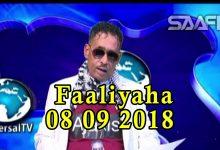 FAALIYAHA QARANKA 08 09 2018 Soomaaliya oo hormuud ka noqotay shirka Afrika iyo Shiinaha