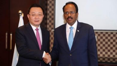 Photo of Somali President Meets With Business Leaders In China