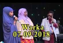 MASRAXA FURAN 07 09 2018 Majaajilo qosol iyo dhalinyaro codkooda iyo heesahooda tijaabinaya