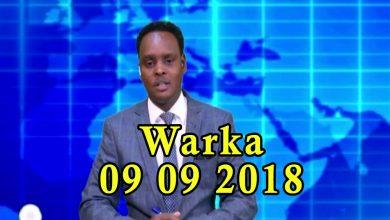 Photo of WARKA 09 09 2018 Madaxweyne Shariif Xasan oo sheegay in uu ka warheynin shirka madaxweyne Farmaajo uu iclaamiyey