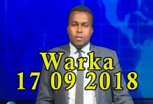 WARKA 17 09 2018 Xubno ka tirsan baarlamaanka Soomaaliya oo sheegay in xukuumada ay ku guul dareysatay wax ka qabashada amniga