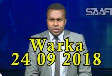 WARKA 24 09 2018 Gudoomiye Yariisow oo kulan la qaatay ehelada ninkii la gubay sheegayna in sharciga la horkeenayo cidii ka dambeysay