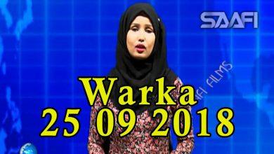 WARKA 25 09 2018 Shirka hanaanka dib u heshiisiinta qaran oo magaalada Muqdisho ka furmay