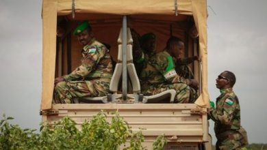 Photo of Somali, AU forces in joint operations to clear main supply routes