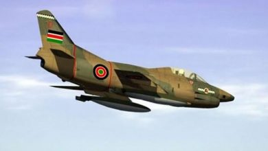 Photo of Military Fighter Jets Carry Out Airstrike Targeting Al-Shabaab Vehicle in Southern Somalia