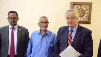 Photo of Somalia's Senate Speaker Meets With New UN Envoy In Mogadishu