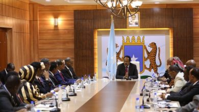 Photo of President Farmajo Chairs Weekly Cabinet
