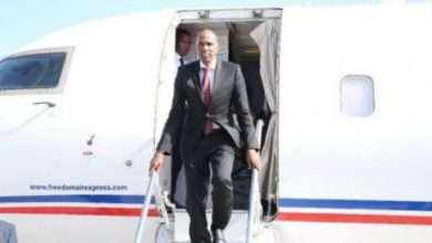 Somali PM Hassan Ali Khaire Arrives In Jowhar Town
