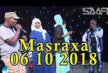 MASRAXA FURAN 06 10 2018 Majaajilo qosol iyo dhalinyaro codkooda iyo heesahooda tijaabinaya