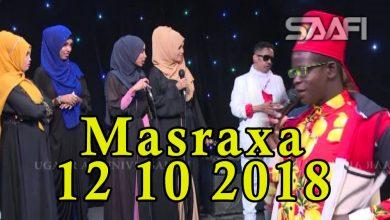 MASRAXA FURAN 12 10 2018 Majaajilo qosol iyo dhalinyaro codkooda iyo heesahooda tijaabinaya