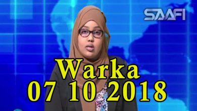 Photo of WARKA 07 10 2018 Shacabka Soomaaliyeed oo inta badan noqday kuwa dhibaato kasoo gaarta baraha bulshada