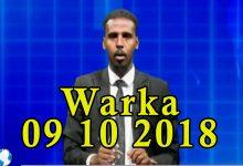 WARKA 09 10 2018 Raisulwasaare Xasan Cali Kheyre iyo wefdi uu hogaaminayo oo lagu soo dhaweeyey dalka Sacuudiga