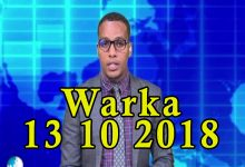 WARKA 13 10 2018 Qaraxyo isku xig xgiay oo lagu bartilmaameydsaday shacab masaakiin ah oo magaalada Baydhabo ka dhacay