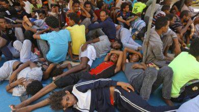 Photo of Somali returned to Libya under Italian policy sets himself on fire