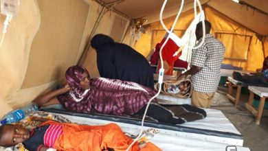 Photo of Somali refugees in Dhagahley camp hit by medical strike