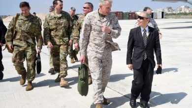 Photo of Commander of United States Africa Command Visits Somalia