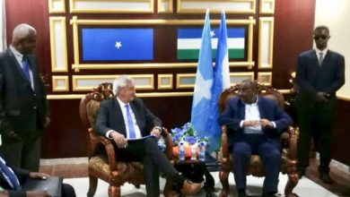 Photo of UN Envoy Arrives In Garowe, Meets With Puntland President