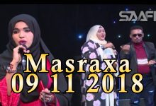 MASRAXA FURAN 09 11 2018 Majaajilo qosol iyo dhalinyaro codkooda iyo heesahooda tijaabinaya
