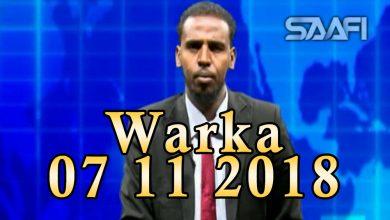 Photo of WARKA 07 11 2018 Madaxweynihii Koofur Galbeed Shariif Xasan oo iscasilay kana tanaasulay musharaxnimadiisa