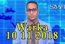 WARKA 10 11 2018 Madaxda Soomaaliya Itoobiya iyo Eriteriya oo ku heshiiyey arimo badan oo waxtar leh