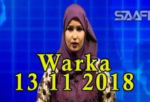 WARKA 13 11 2018 Maamulka gobolka Banaadir oo sheegay in ay gacanta ku haayan rag ka tirsan Al shabaab