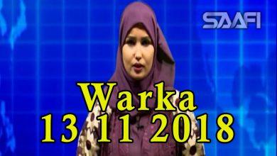Photo of WARKA 13 11 2018 Maamulka gobolka Banaadir oo sheegay in ay gacanta ku haayan rag ka tirsan Al shabaab