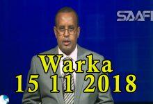WARKA 15 11 2018 Maxkamada ciidamada oo xukuno kala duwan ku riday labo nin oo ku eedeysan Shabaabnimo