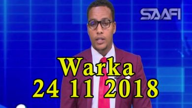 Photo of WARKA 24 11 2018 Madaxweynaha Soomaaliland Muuse Biixi oo booqday deeganka Tukaraq oo Puntland ay isku hor fadhiyaan