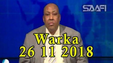 Photo of WARKA 26 11 2018 Wadaadkii lagu eedeyn jiray in uu nabiga u gefay ee Sh Cabdiweli Cilmi Yare oo xaruntiisi Galkacyo lagu dilay qaraxyana lagu weeraray