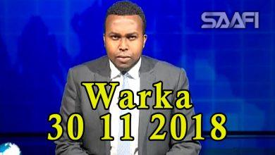 Photo of WARKA 30 11 2018 Madaxweyne Farmaajo iyo Kheyre oo magaalada Baydhabo geystay ciidamo tiro badan